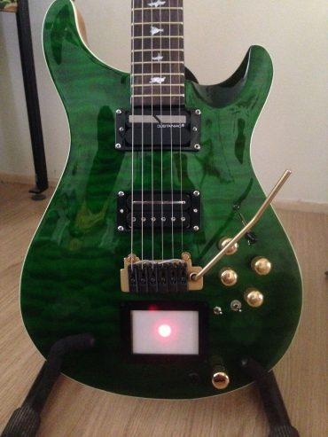 The Green Prs guitar