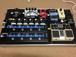 custom pedal board